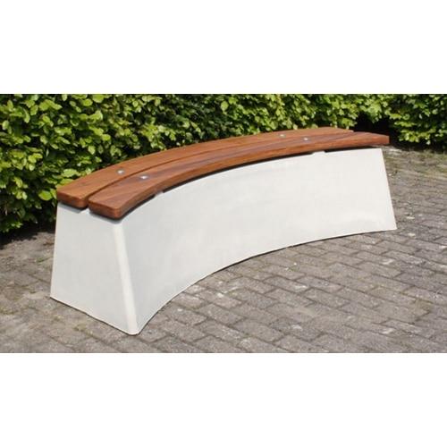 banc beton ovale partenaire collectivit. Black Bedroom Furniture Sets. Home Design Ideas