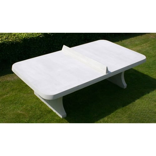 Table ping pong angles arrondis exterieur beton for Table exterieur beton