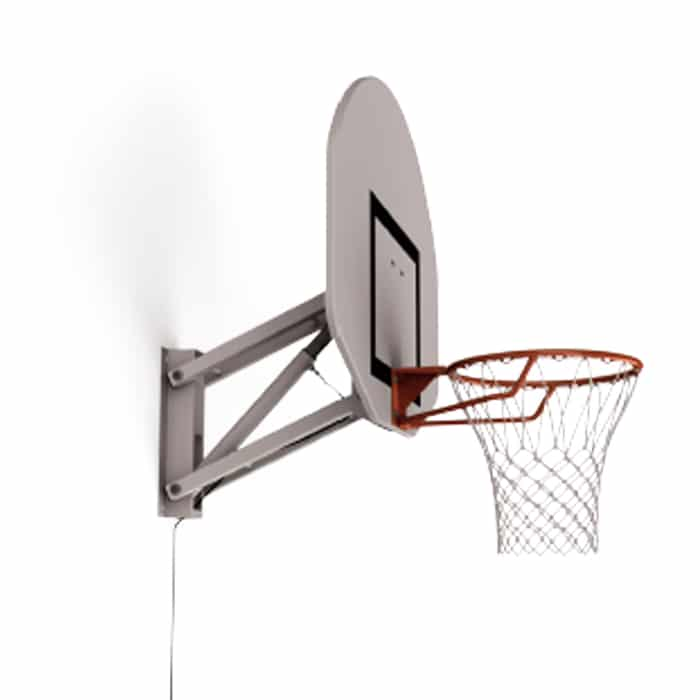 1 but de basket mural reglable de a fixation. Black Bedroom Furniture Sets. Home Design Ideas