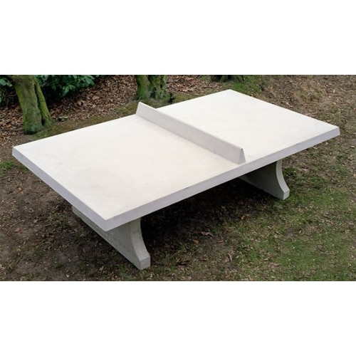 Table ping pong exterieur beton partenaire collectivit for Table exterieur beton
